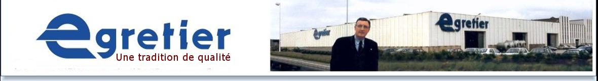 Logo entete usine Egretier à Narbonne
