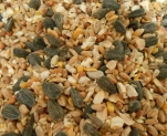Céréales diverses, mélangées dans le mélangeur mixte EGRETIER