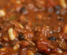 Plat cuisiné en sauce mélangé dans le mélangeur à double ruban EGRETIER