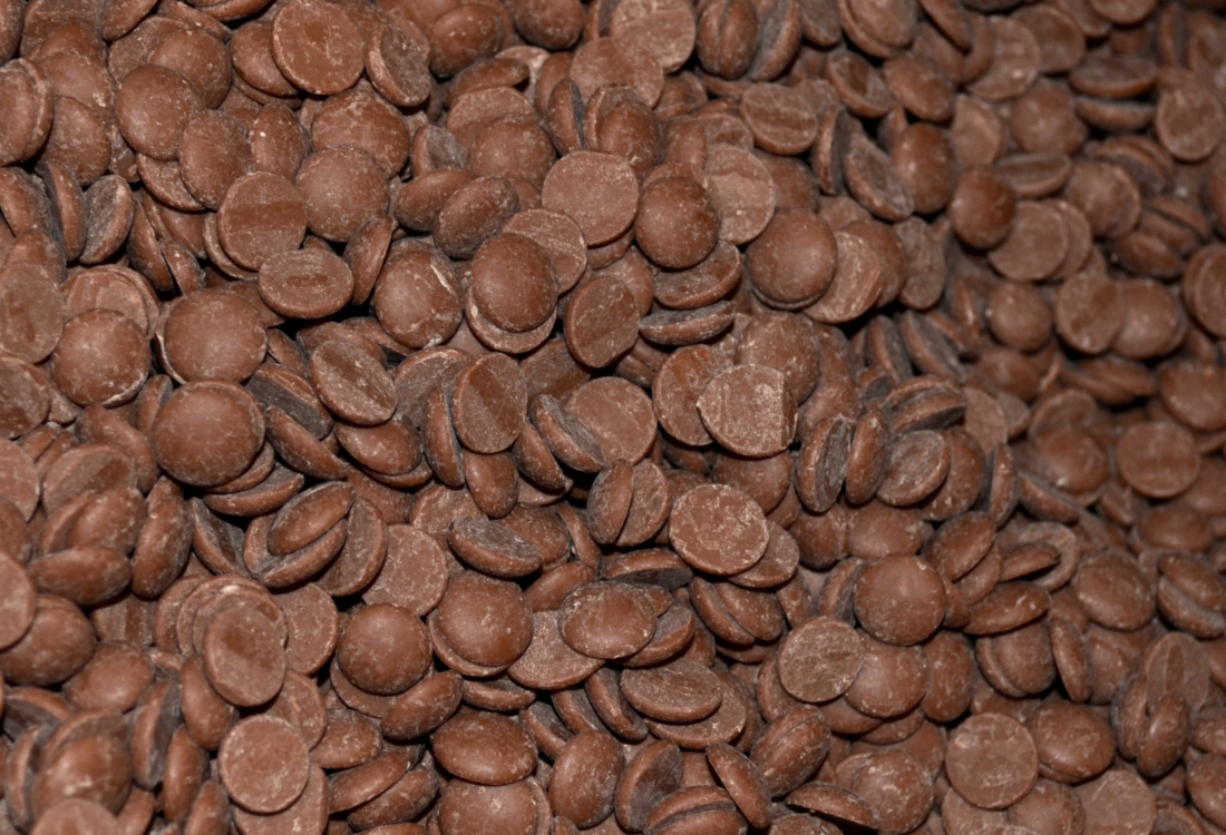 Chocolat transféré dans la vanne bidirectionnelle EGRETIER