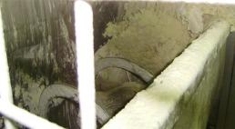 Pain mélangé et malaxé dans un mélangeur à bande EGRETIER