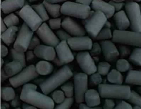 Pellets de charbon,, transférés dans la vanne bidirectionnelle EGRETIER